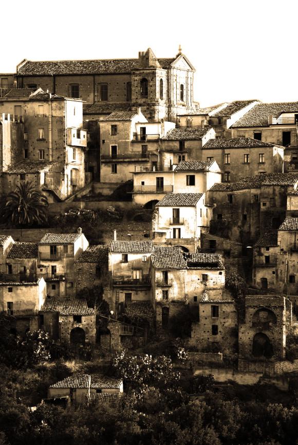 L'antico centro storico di Petrizzi