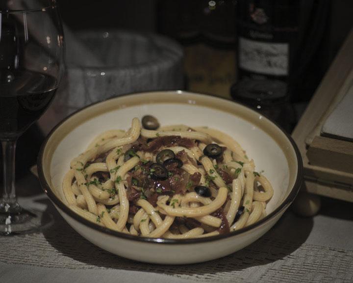 Bucatini ai sapori di Calabria
